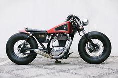 Perfect Suzuki Savage LS650 Bobber by Studio Motor #bobber #suzuki #motorcycles   caferacerpasion.com