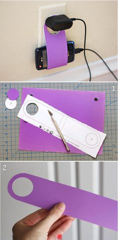 DIY mobile holder