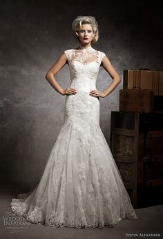 Justin Alexander wedding dresses 2013 (2)  I would like it even more with dangly cap sleeves
