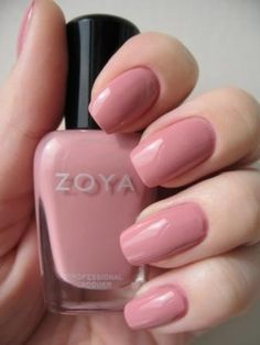 Zoya nail polish!! So many colours, so few nails! Love this colour 'Mia'