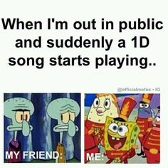 My friends luckily like one direction same as me!