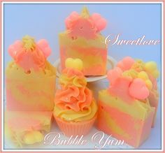 Bubble Yum Luxury Soap  www.sweetlovecandles.com