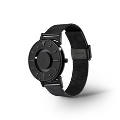 Bradley Black by Eone Timepieces. The newest addition to the Eone Bradley Collection.