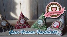 Tutorial: Sour-Cream-Container mit Produkten von Stampin' Up!
