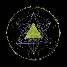 17. Tetrahedron - Fire -Solar Plexus Chakra A tetrahedron has four equal triangular faces. It is symbolic of the element of fire. Fire releases heat and light through a process known as combustio...