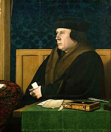 Thomas Cromwell, by Hans Holbein the Younger. It seems that Cromwell's distrust acted as a brake on Thomas Bromley's career. His judicial promotion and property speculation both forged ahead as Cromwell's power came to an end.
