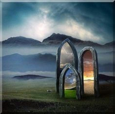 portals to another realm , magickal