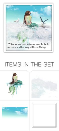 """very different..."" by lindafaulkner-adams ❤ liked on Polyvore featuring art"