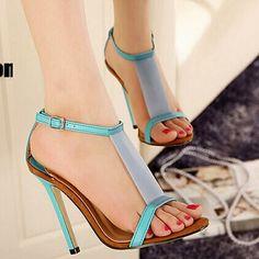 European women party shoes Open-toed sandals platform nude pumps high heel shoes. Woman sexy party pumps ladies sandals.