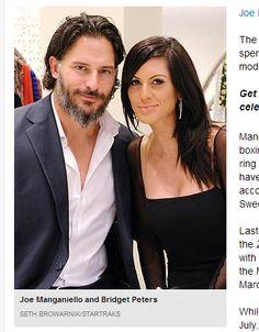 bridget peters pics | Joe Manganiello está namorando a modelo Bridget Peters | Tá Rolando