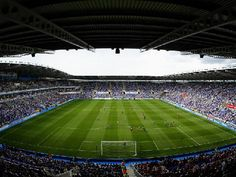 Reading's Madjeski Stadium will see Premiership football again this August after the Royals took the Championship title.