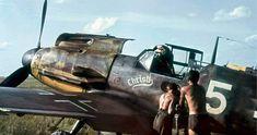 Bf 109F4 Gerhard Barkhorn ' Christl' White 5