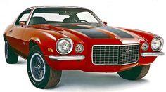 1971 Chevrolet Camaro Z28 Sports Coupe