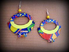Repurposed Photo Earrings