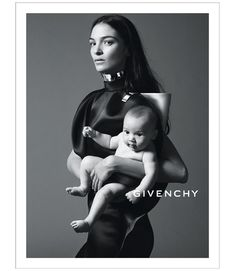 Mariacarla Boscono Poses with Her Daughter in Givenchys Spring 2013 Campaign by Mert & Marcus
