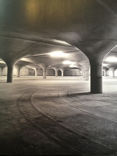 Concrete Poetry: Concrete Architecture in Australia (uni of melb underground carpark)