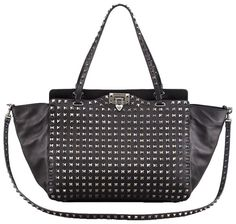 Valentino Noir Rockstud Tote Bag i love you so much!