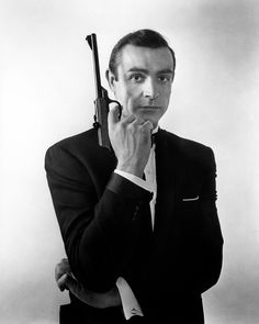 """G.B. England. London. Sean CONNERY, """"From Russia with Love"""". Picture used on the original posters.1963.© David Hurn/Magnum Photos"""