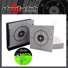 Kugelfang + 120 Zielscheiben + JSB Match Diabolos Kal. 4,5 mm 0,475g