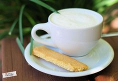 Vanille-Sablé-Stangen mit Fleur de Sel
