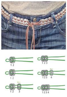 """smarylove: """" How To Make DIY Soda Pull Tab Belt This belt is super cute. And it is super green too. It is made of soda pull tabs. Diy Jewelry Unique, Diy Jewelry Making, Jewelry Crafts, Bead Crafts, Soda Tab Crafts, Can Tab Crafts, Pop Top Crafts, Pop Can Tabs, Monster Crafts"""