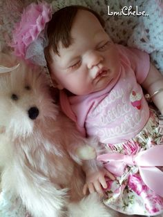 From The Sugar Kit Reborn Baby Doll Kira 20 inch kit Completed Doll