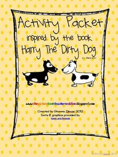 $ Activity Packet inspired by Harry The Dirty Dog by Gene Zion
