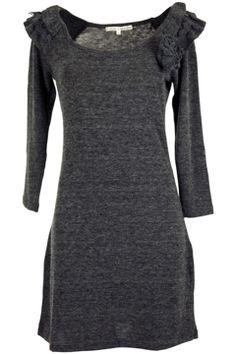 Uttam Fashion Online Hejia Knitted Dress - Womens Knee Length Dresses - Birdsnest Online