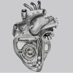 Steampunk heart maybe right over where my heart is