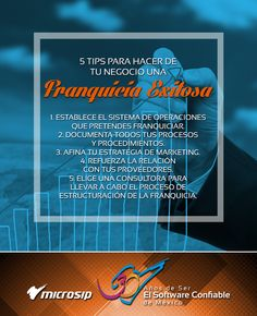 #TipsDeNegocios 5 tips para hacer de tu negocio una franquicia exitosa