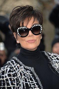 Funky Short Hair, Short Hair Cuts For Women, Trendy Hair, Haircut For Thick Hair, Pixie Haircut, Cabelo Kris Jenner, Kris Jenner Haircut, Kris Jenner Hairstyles, Pixie Hairstyles