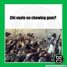 Vuoi farti un sacco di #amici ? Grida questa frase è aspetta! #bastardidentro #chewinggum www.bastardidentro.it