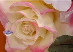 Air Dry Clay Tutorials: Roses by Rubicce