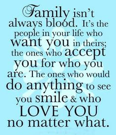 So thankful for those friends who are closer than family