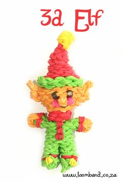 Happy Elf loom band tutorial, instructions and videos on hundreds of loom band designs. Shop online for all your looming supplies, delivery anywhere in SA. Loom Bands Designs, Loom Band Patterns, Rainbow Loom Patterns, Rainbow Loom Creations, Rainbow Loom Bands, Rainbow Loom Charms, Rainbow Loom Bracelets, Loom Band Animals, Rainbow Loom Animals