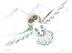 Ray Baptiste - Flying Owl