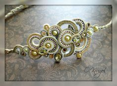 Soutache Bracelet, Necklaces, Bracelets, Shibori, Photo Wall, Inspiration, Biblical Inspiration, Photograph, Chain