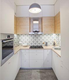 Jak urządzić małą kuchnię w bloku? Inspiracje