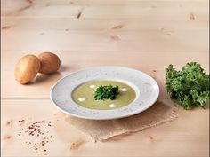 zuppa cavolo riccio patate con yogurt | Fage Italia