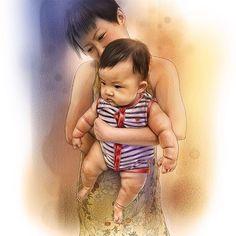 #baby #life #family #cute #chubby #newborn #babyart #mother #cutekidsclub