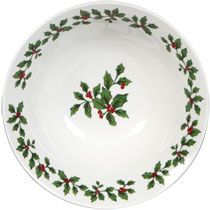 I like these Christmas dinner plates, and the price tag isn't bad either ($1).