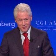 cool Bill Clinton in Iowa: Says a 2016 win for Hillary breaks  'glass ceilings'