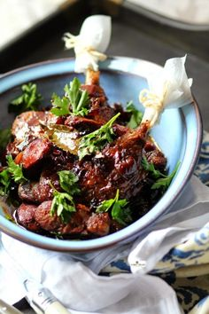 Slow-Roasted Duck Leg and Crunchy Root Vegetable Salad | Ducks, Root ...