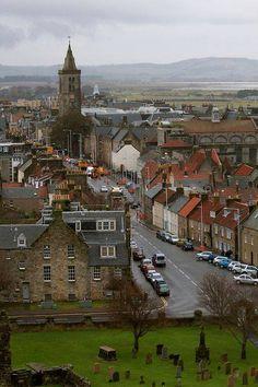 St. Andrews on Fife's East coast.