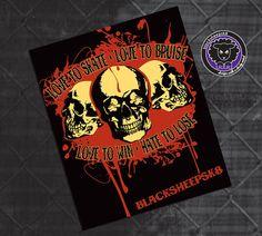 Roller Derby Sticker Love to Skate Vintage by blacksheepclothing, $3.00