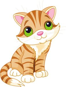 This sweet cat is another darling addition to our cat collection of critters. Kitten Cartoon, Cartoon Art, Cute Cartoon, Cute Kittens, Cartoon Mignon, Sweet Cat, Baby Animals, Cute Animals, Kitten Images