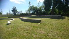 Diswellstown Manor, Castleknock, Dublin. Detention Basin, Amphitheatre Landscape Architects, Dublin, Basin, Sidewalk, Architecture, Arquitetura, Side Walkway, Walkway, Architecture Design