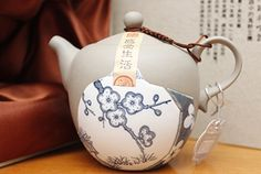 Hao Yue Ceramics Culture Group partial glaze teapot.