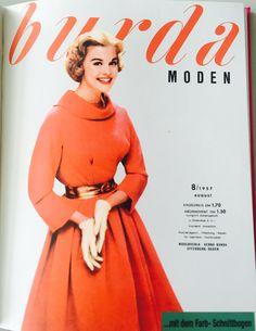 burda MODEN 8/1957