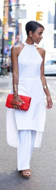 White After Labor Day / Fashion By MDoll NYC
